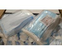 Медицинские маски 3х-слойные с фильтром (МЕЛЬТБЛАУН)