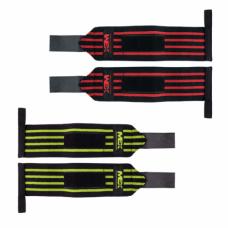 Кистевые бинты MEX Pro Wrist Wrappies Black/Yellow 30 см
