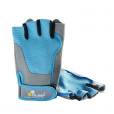OLIMP Fitness ONE Gloves (голубой цвет)