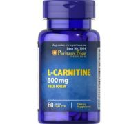 Карнитин Puritan's Pride L-Carnitine 500 mg 60 капсул