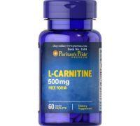 Карнитин Puritan's Pride L-Carnitine 500 mg 60 капсул