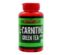 Карнитин ActivLab L-Carnitine Plus Green Tea 60 капс