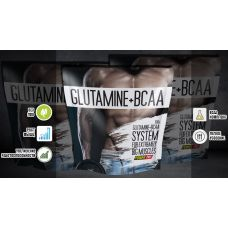 Аминокислота Power Pro Glutamine+BCAA 0,5 кг