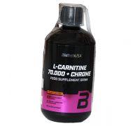 BioTech USA L-Carnitine 70.000 мг + Chrome 500 мл