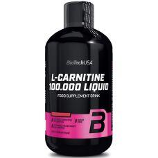 Аминокислота BioTech USA L-Carnitine 100.000 Liquid 500 ml