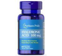 Puritan's Pride Hyaluronic Acid 100 mg 60 caps
