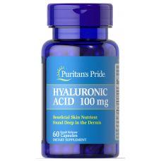Витамины Puritan's Pride Hyaluronic Acid 100 mg 60 caps