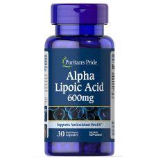 Антиоксидант Puritan's Pride Alpha Lipoic Acid 600 mg 30 caps