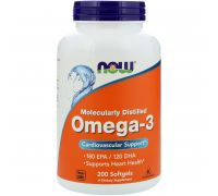 NOW Omega-3 200 softgels
