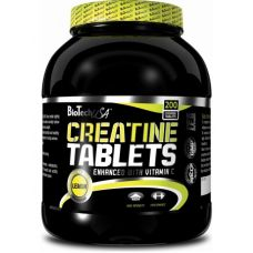 Креатин BioTech USA Creatine Tablets 200 таб