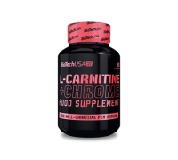 Карнитин BioTech USA L-Carnitine+ Chrome 60 капс