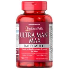 Мультивитамины  Puritan's Pride Ultra Man Max 90 таб
