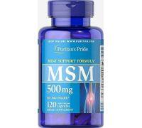 Сера Puritan's Pride MSM 500 mg 120 капс