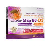 Магний Olimp Chela-Mag B6 + D3 30 капс