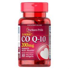 Коензим Q-10 Q-SORB Puritan's Pride 200 mg 30 капсул