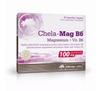 Магний Olimp Chela-Mag B6 30 капс