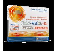 Витамины Olimp Sport Nutrition Gold-Vit D3 K2 30 капсул