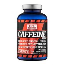 Предтренировочный комплекс  UNS Caffeine 100 caps