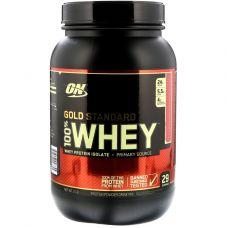 Протеин сывороточный Optimum Nutrition 100% Whey Gold Standard 909 г