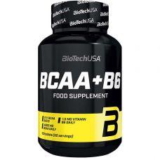 Аминокислота BioTech BCAA+B6 100 таб