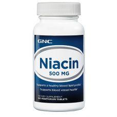 GNC Niacin 500 100 капс