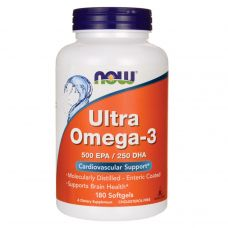 NOW Ultra Omega-3 180 Softgels