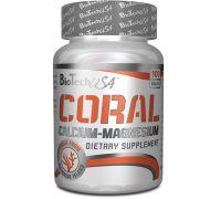 BioTech USA Coral Calcium Magnesium 100 таб
