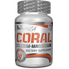 Витамины BioTech USA Coral Calcium Magnesium 100 таб