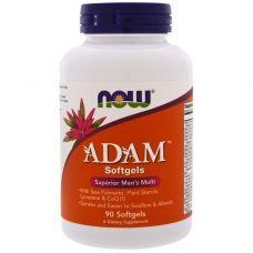 Витамины NOW ADAM 90 softgel