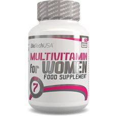 BioTech USA Multivitamin for Women 60 таб