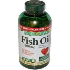 Nature's Bounty Fish Oil Omega-3 1200 320 капс