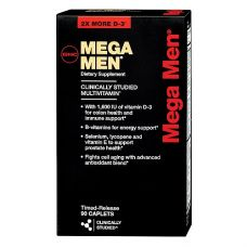GNC Mega Men 90 капс