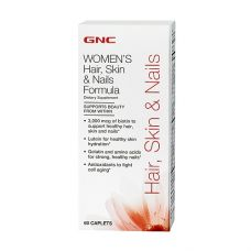 GNC Hair, Skin & Nails Formula 60 каплет
