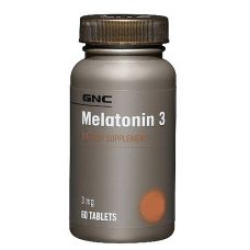 GNC MELATONIN 3 60 капс