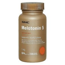 GNC MELATONIN 5 60 капс
