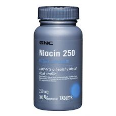 GNC Niacin 250 100 капс