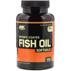 Жирные кислоты Optimum Nutrition Fish Oil Softgels 100 Softgels