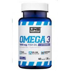 Жирные кислоты UNS Omega 3 40 caps