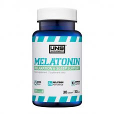 UNS Melatonin 3mg 30 tab