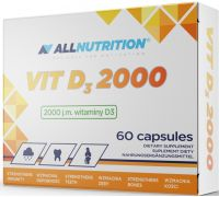 All Nutrition VIT D3 2000 60 caps
