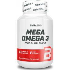 Жирные кислоты BioTech USA Mega Omega 3 90 капс