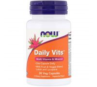 Now Foods Daily Vits 30 caps