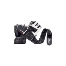 OLIMP Training gloves Hardcore COMPETITION Wrist Wrap (белый цвет)