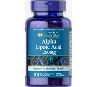 Puritan's Pride Alpha Lipoic Acid 200 mg 100 caps