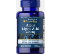 Puritan's Pride Alpha Lipoic Acid 300 mg 60 caps