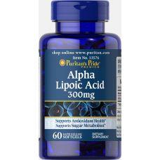 Puritan's Pride Alpha Lipoic Acid 300 mg 60 caps