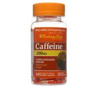Puritan's Pride Caffeine 200 mg 60 капсул