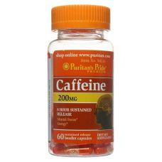 Предтренировочный комплекс Puritan's Pride Caffeine 200 mg 60 капсул