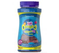 Puritans Pride Children's Omega 3, DHA & D3 Gummies 120 tab