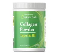 Puritan's Pride Collagen Powder Type I & III 198 грамм